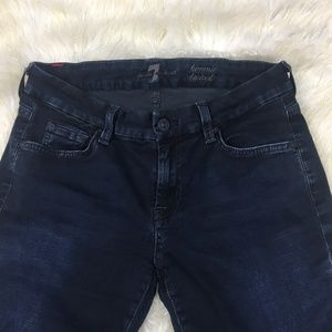 7FAM For All Mankind Kimmie Bootcut Low Rise Jeans